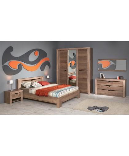 Модульная система спальни «Гарда» (Дуб галифакс Табак)