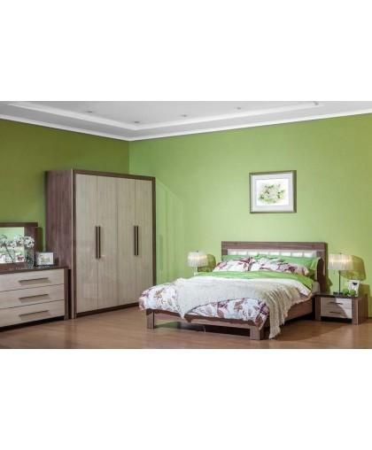 Спальня Мартель 2, дуб шамони/глянец
