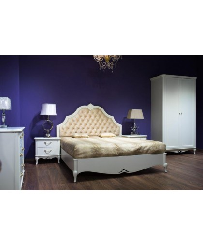 Спальня Жасмин, альпийский белый