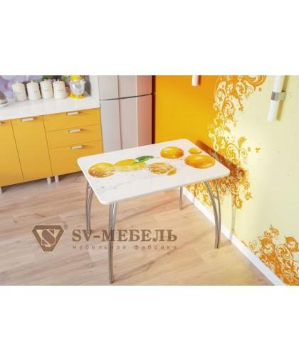 Стол кухонный Апельсины