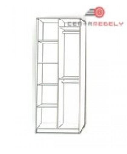 Бэмби 4 Шкаф комбинированный